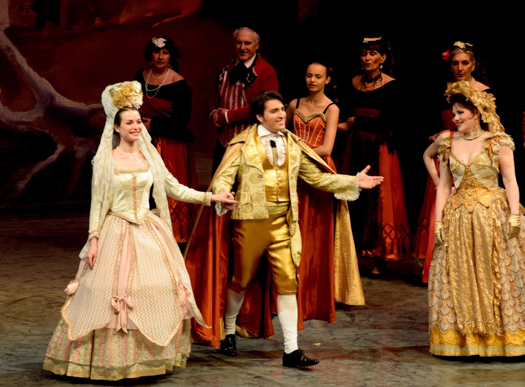 Le Prince de Madrid à Toulouse Amélie Robins, Mard Larcher, Aurélie Baudet