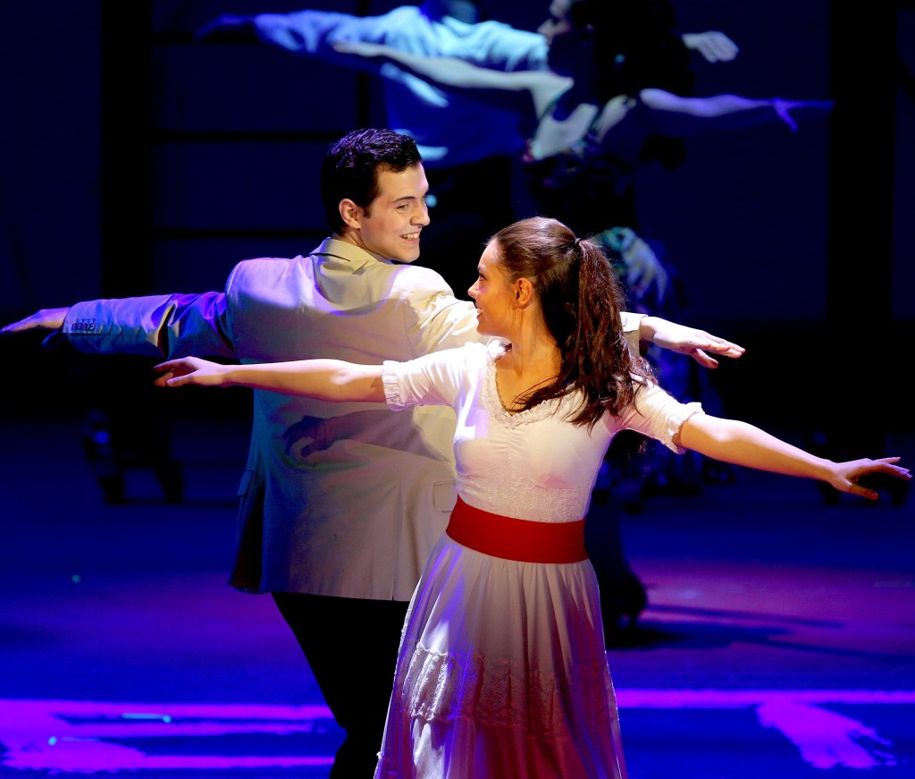 WEST SIDE STORY  :   Luca Giacomelli et Catarina Gabrielli (photo Marcello Orselli)