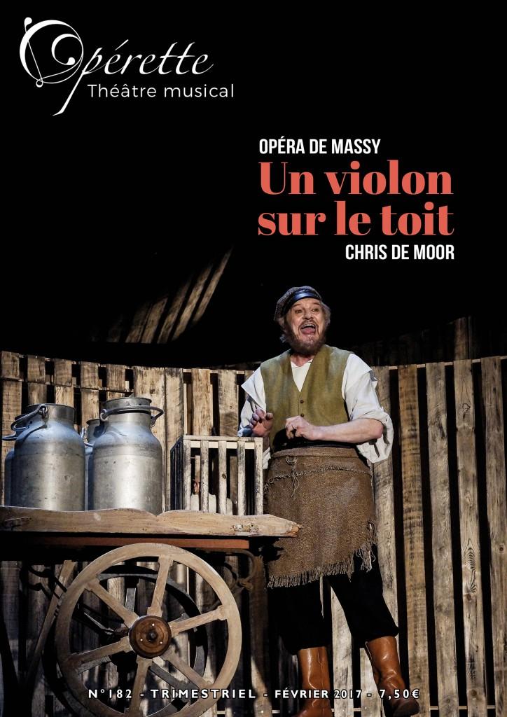 Couverture du numéro 182 du magazine musical Opérette