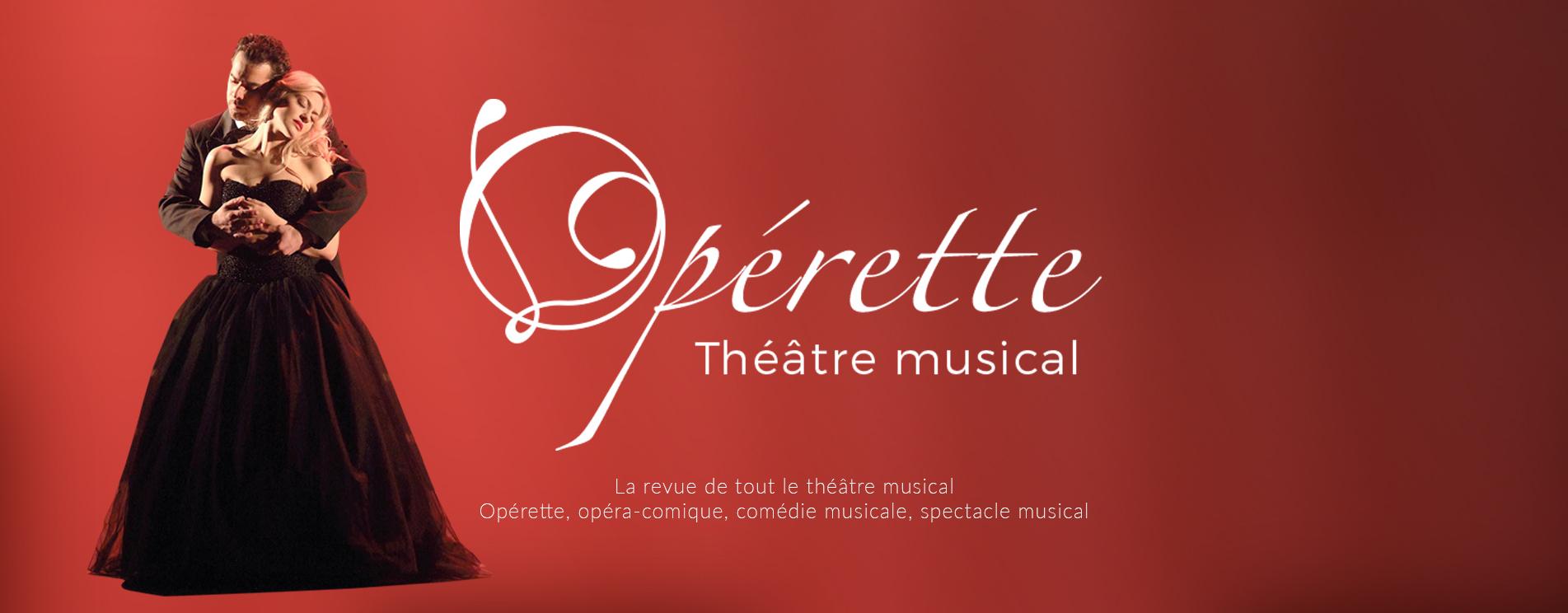 Opérette Théâtre Musical n°183 : La Veuve Joyeuse est en couverture