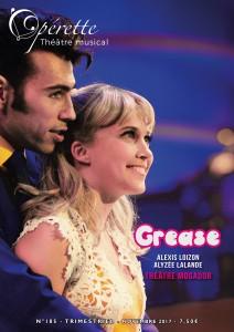 Grease fait la une du magasine musical Opérette