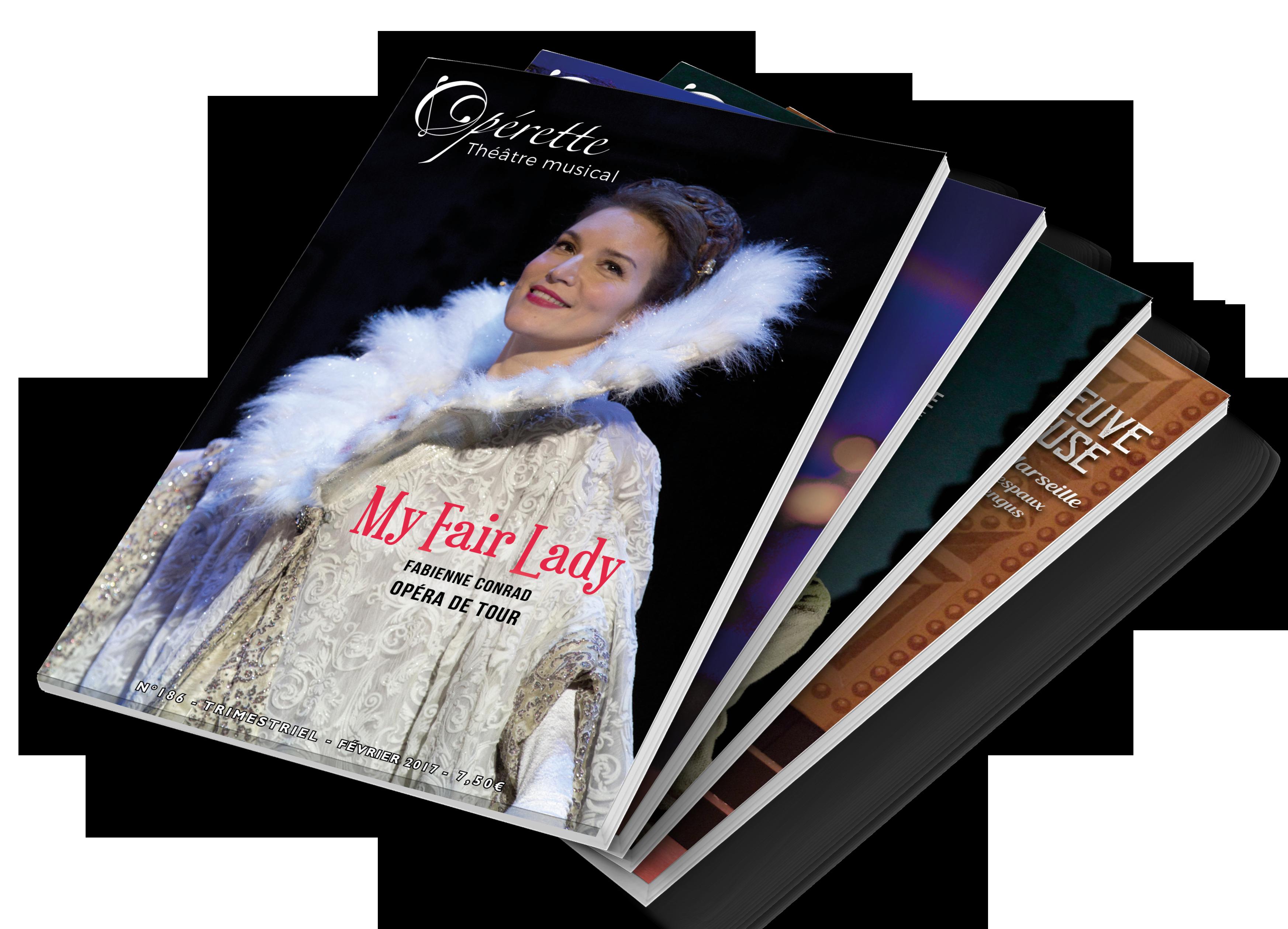 Votre abonnement au magazine des comédies musicales