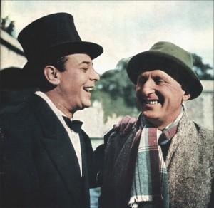 Bourvil et Guétary