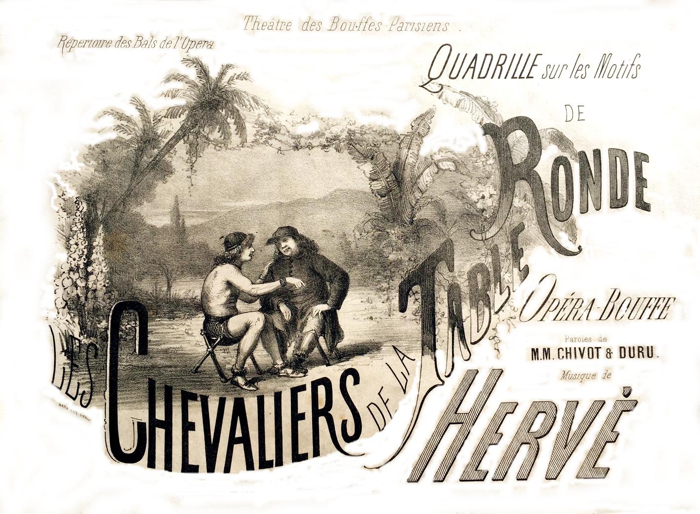 Herv op rette th tre musical - Les chevaliers de la table ronde chanson ...