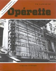 Opérette - numéro 52