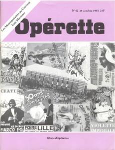 Opérette - numéro 57