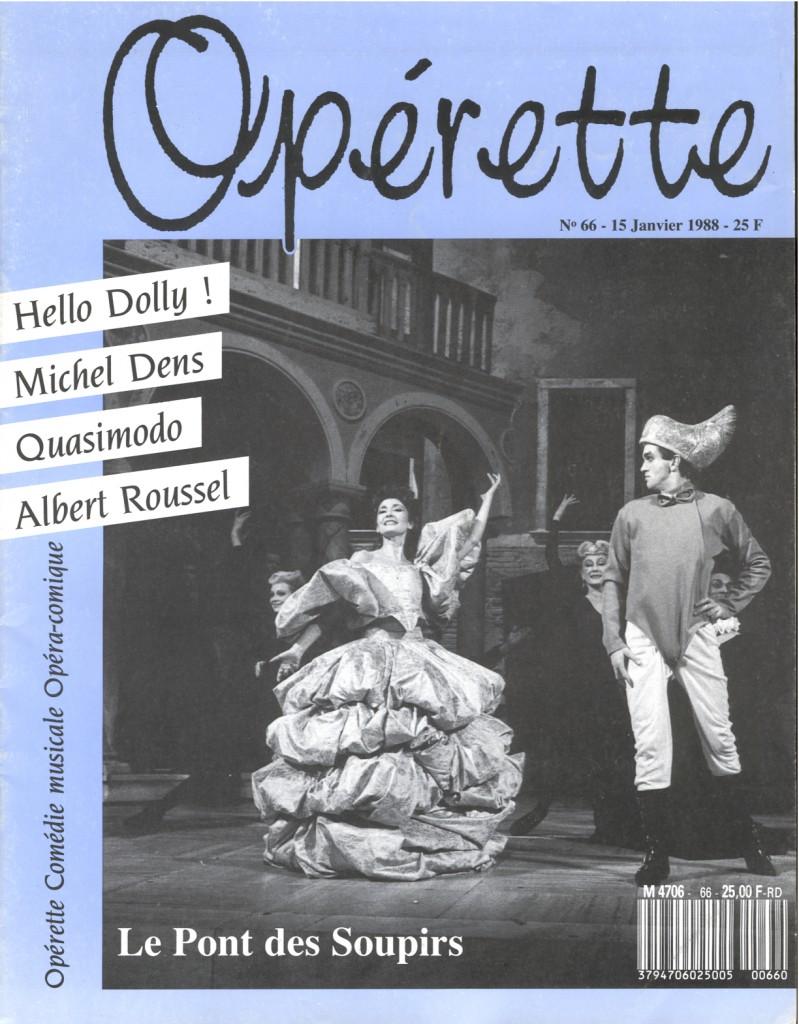 Opérette - numéro 66