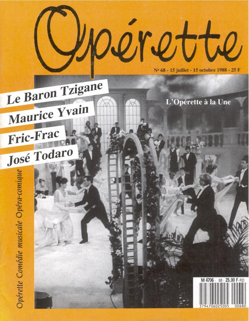 Opérette - numéro 68