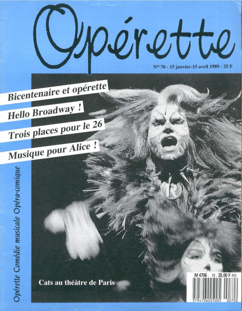 Opérette - numéro 70