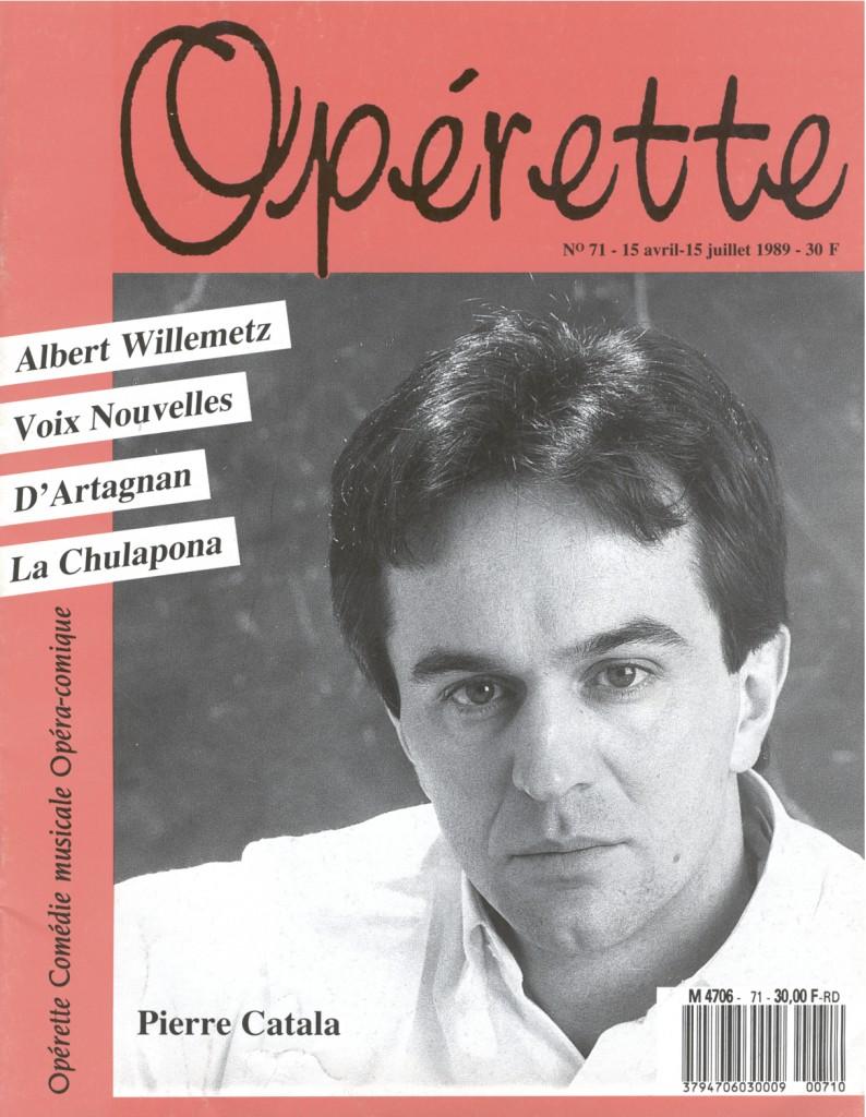Opérette - numéro 71