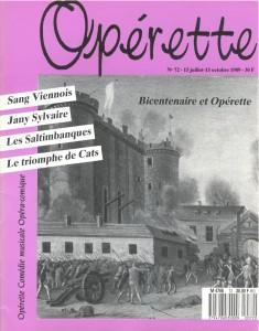 Opérette - numéro 72