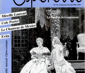 Opérette - numéro 74