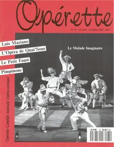 Opérette - numéro 75