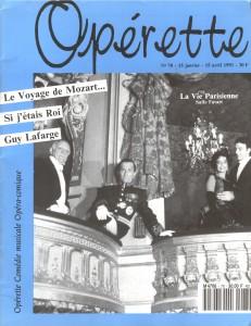 Opérette - numéro 78