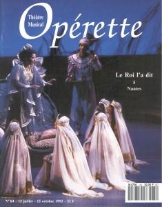 Opérette - numéro 84
