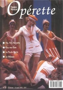 Opérette - numéro 86