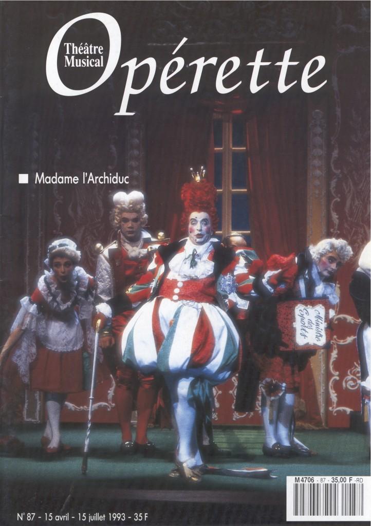 Opérette - numéro 87