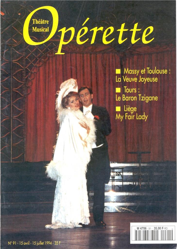 Opérette - numéro 91