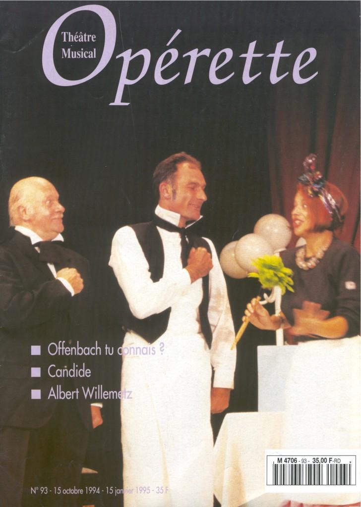 Opérette - numéro 93