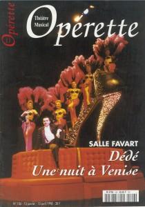 Opérette - numéro 106