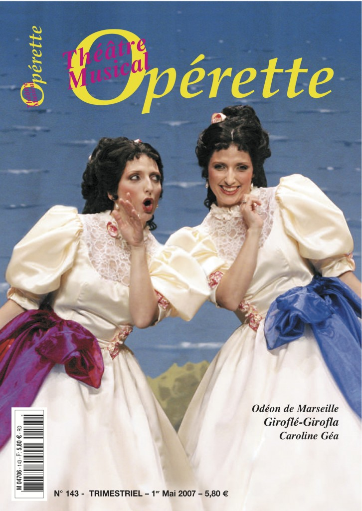 Opérette - numéro 143