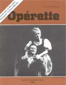 Opérette - numéro 55