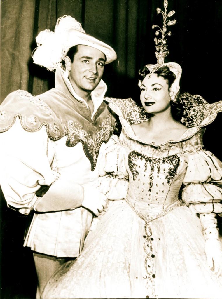 Marcel Merkès et Paulette Merval dans une opérette de Vincent Scotto