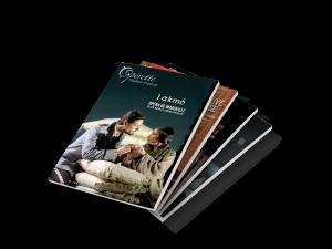 Un abonnement annuel correspond à 4 numéros d'Opérette - Théâtre Musical