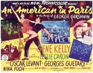 Un-americain-a-Paris---Affiche