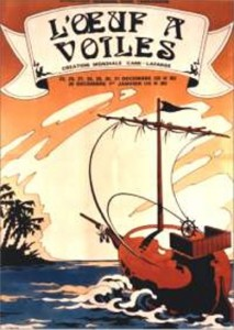 Oeuf à voile