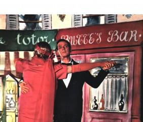 Couple dans la comédie musicale La Polka des Lampions
