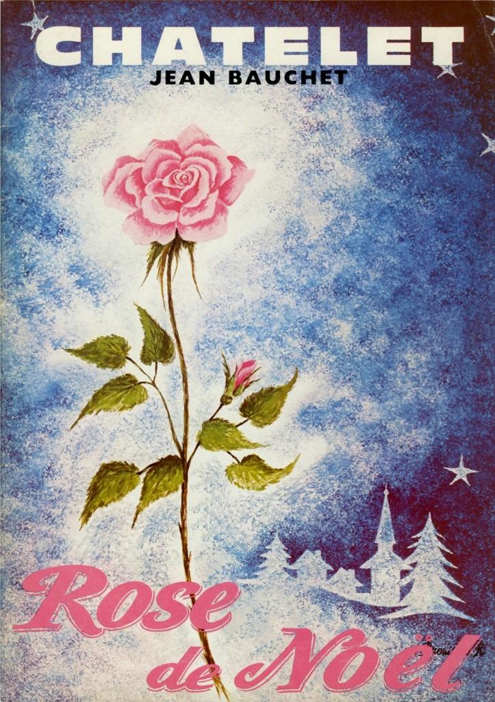 Affiche du Châtelet pour La Rose de Noël