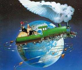 Affiche de la comédie musicale le tour du monde en 80 jours