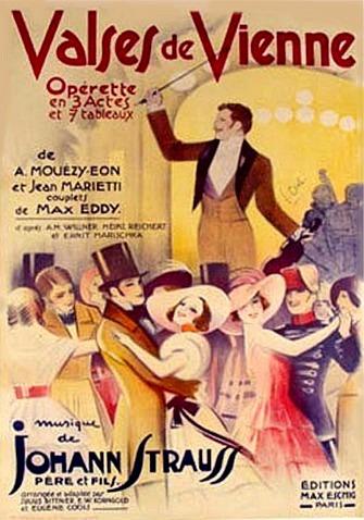 Opérette - Théâtre Musical vous présente les Valses de Vienne