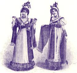 Illustration : Odette Dulac et Alice Bonheur pour l'Opérette les Petites Michu