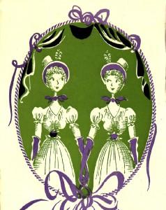 Illustration pour l'Opérette Les Petites Michu