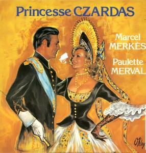 Affiche de Princesse Czardas