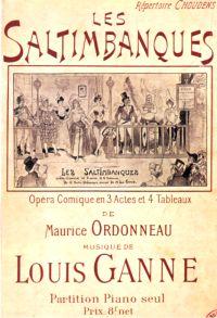 Ancienne Affiche pour Les Saltimbanques