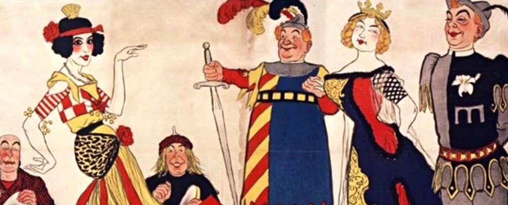 Illustration de la comédie musicale Le Sire de Vergy