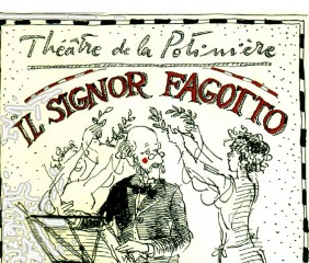 Dessin d'illustration pour Il Signor Fagotto