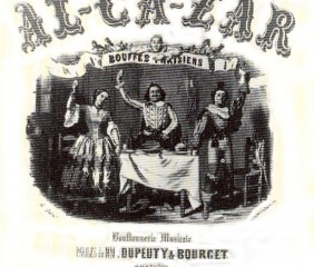 Pièce Al-Ca-Zar de Jacques Offenbach
