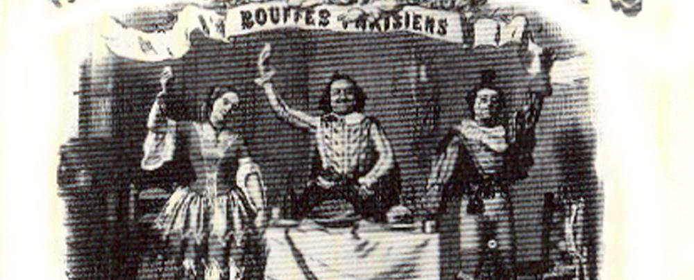 Affiche de la Bouffonnerie musicale Trom-Al-Ca-Zar