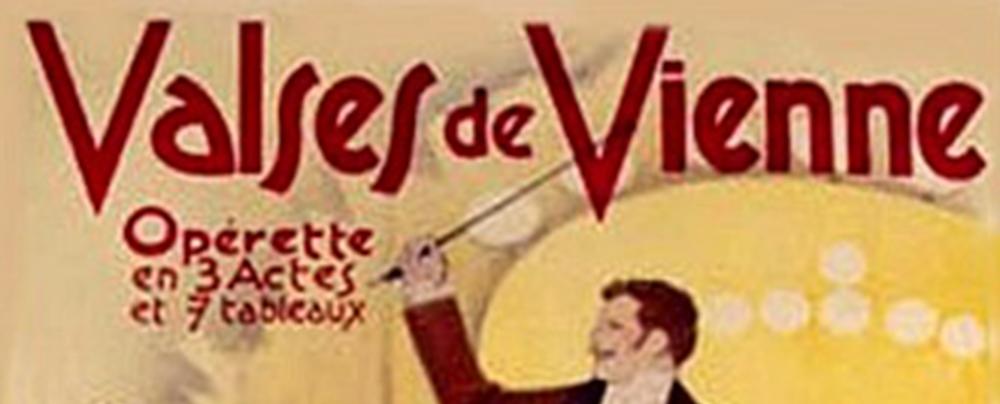 Affiche des Valses de Vienne