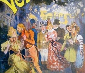 Affiche de l'Opérette Véronique