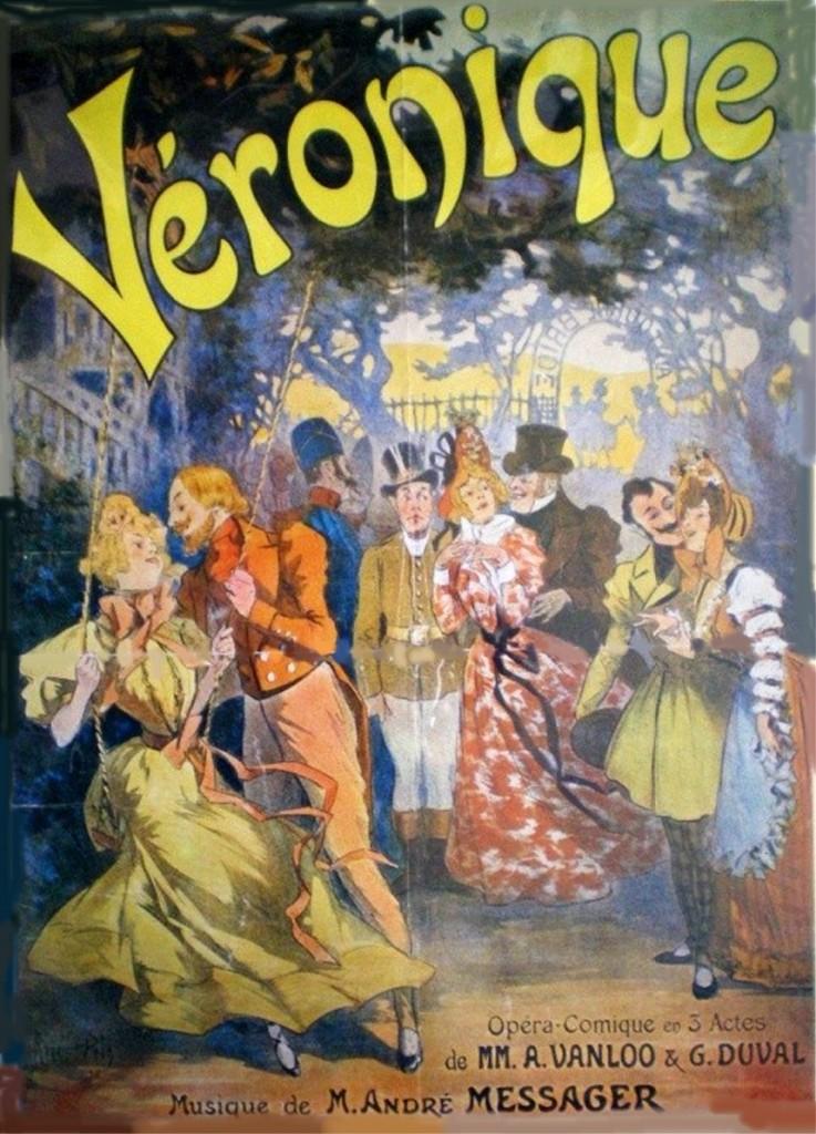 André Messager a composé les musiques de Véronique