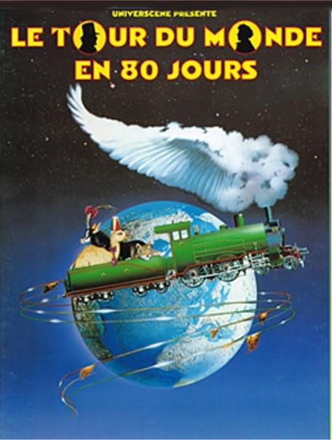 Comédie musicale Le Tour du Monde en 80 jours