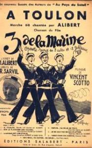 Les Trois de la Marine, par Vincent Scotto