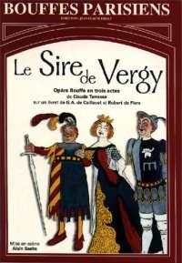 Affiche pour Le Sire de Vergy