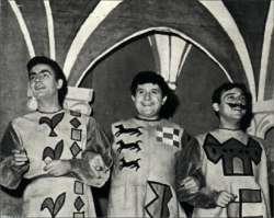 Roger Pierre, Jean Richard, Jean Marc Thibault (1952) jouent dans Le Sire de Vergy