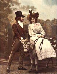Jean Périer & Mariette Sully dans l'Opérette Véronique
